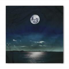 Ay Işığında Deniz Bandana Fular