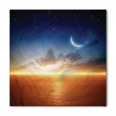 Gün Batımı Ay Yıldızlar Bandana Fular