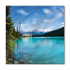 Mavi Göl Bandana Fular