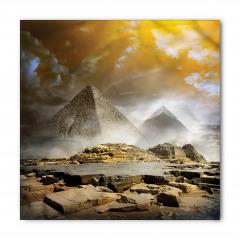 Antik Mısır Piramit Bandana Fular