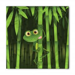 Bambu ve Kurbağa Bandana Fular
