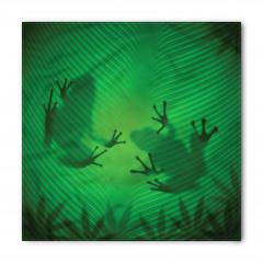 Kurbağa ve Yaprak Bandana Fular