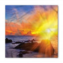 Deniz ve Gün Doğumu Bandana Fular