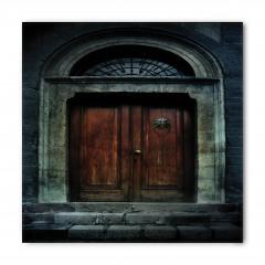 Antik Tapınak Kapısı Bandana Fular