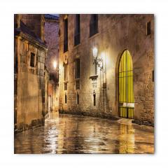 Klasik Barselona Sokağı Bandana Fular