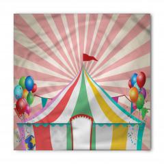 Sirk ve Balon Desenli Bandana Fular