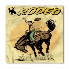 Retro Kovboy ve At Bandana Fular