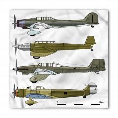 Eski Savaş Uçakları Bandana Fular
