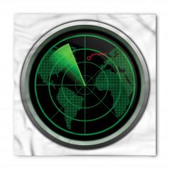 Uçak Radarı Bandana Fular