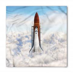 Uzay Mekiği Desenli Bandana Fular