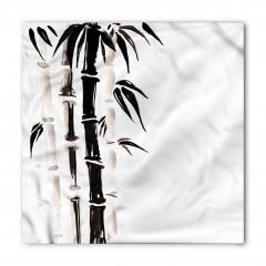 Siyah Beyaz Bambu Bandana Fular