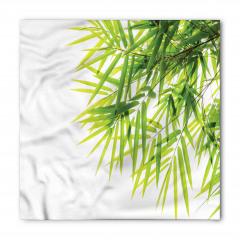 Bambu Yaprağı Desenli Bandana Fular