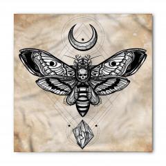 Kelebek Desenli Bandana Fular