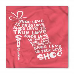 Ayakkabı Tutkununa Özel Bandana Fular