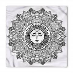 Güneş Tanrısı Desenli Bandana Fular