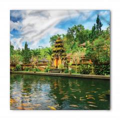 Tapınak Manzaralı Bandana Fular