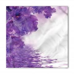 Islak Çiçekler Bandana Fular