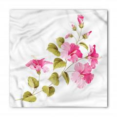 Çiçekler ve Yaprakları Bandana Fular