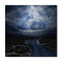 Fırtınalı Yol Temalı Bandana Fular