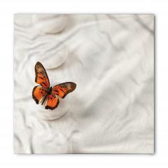 Taşın Üstündeki Kelebek Bandana Fular