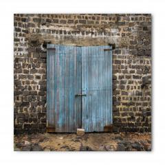 Ahşap Kapı Temalı Bandana Fular