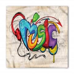 Rengarenk Sokak Sanatı Bandana Fular