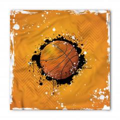 Basketbol Topu Desenli Bandana Fular