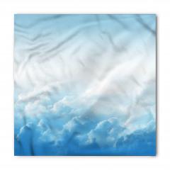 Mavi Gökyüzü ve Bulut Bandana Fular