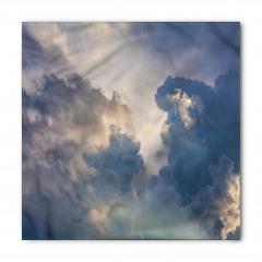 Gökyüzü ve Bulut Temalı Bandana Fular
