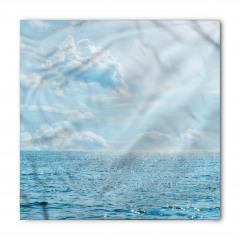 Deniz Bulut Manzaralı Bandana Fular