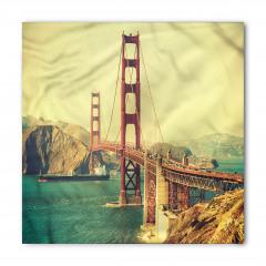 Kırmızı Köprü ve Gemi Bandana Fular