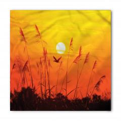 Güneş Sazlık ve Kuşlar Bandana Fular