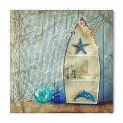 Deniz Yıldızı ve Ağ Bandana Fular