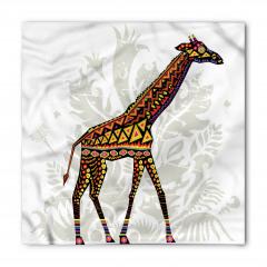 Zürafa Desenli Bandana Fular