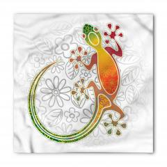 Kurbağa ve Çiçek Bandana Fular