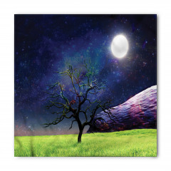 Ay Işığı ve Ağaç Bandana Fular
