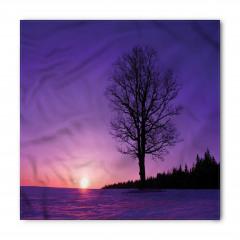Deniz Kenarındaki Ağaç Bandana Fular