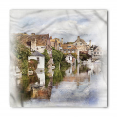 Brugge Kanalı Bandana Fular