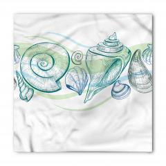 Pastel Deniz Kabuğu Bandana Fular
