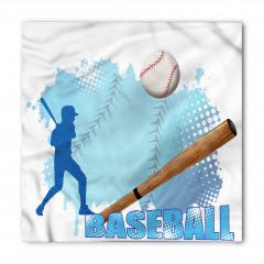 Beyzbol Temalı Bandana Fular