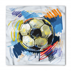 Rengarenk Futbol Topu Bandana Fular