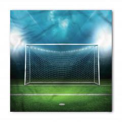 Futbol Sahası Desenli Bandana Fular