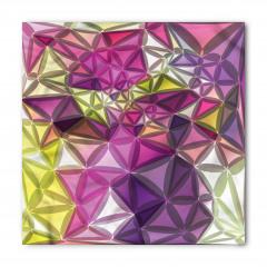 Rengarenk Geometrik Bandana Fular