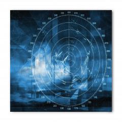 Gemi Radarı Desenli Bandana Fular