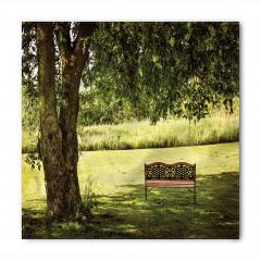 Ağaç Gölgesi Desenli Bandana Fular