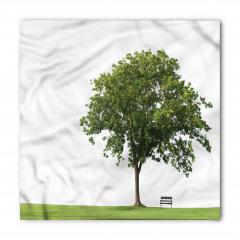 Parktaki Ağaç Bandana Fular