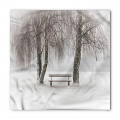 Kar ve Ağaç Bandana Fular
