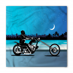 Motosiklet Desenli Bandana Fular