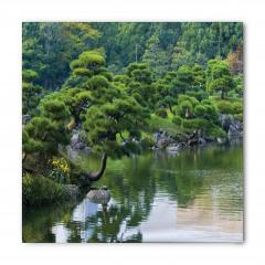 Doğada Huzurlu Nehir Bandana Fular