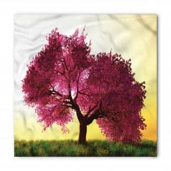 Dekoratif Ağaç Desenli Bandana Fular